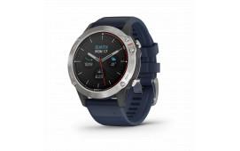 quatix® 6, grå med kaptensblått armband