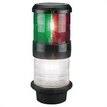 Lanterna Aqua Signal 40 3-färg med ankar Svart