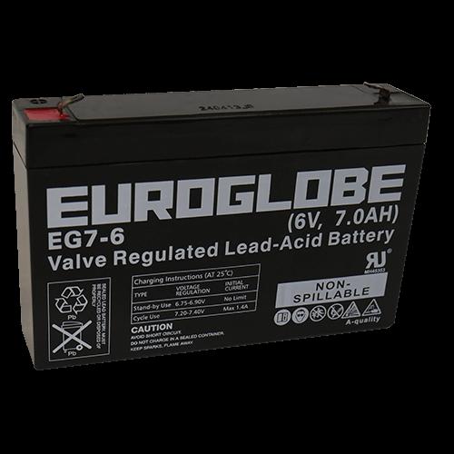 EG7-6  AGM Batteri