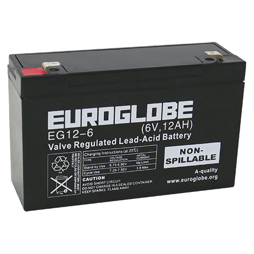 EG12-6  AGM Batteri
