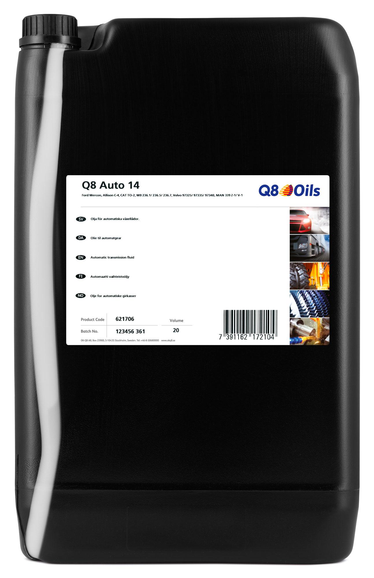 Q8 T 750 Motorolja 15W-40 20L